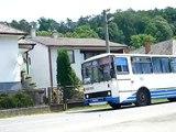 Príchod/odchod autobusu Karosa C734 SAD Humenné HE-053AR