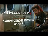 [PT-BR] MGS V: Ground Zeroes - Ground Zeroes Mission - Rank S