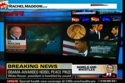 Rachel Maddow on Obama's Nobel Peace Prize and Rethuglian's Obama Derangement Syndrome