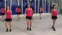 Pure Dynamics Dance Studio Performing Blurred Lines at the Miami Marlins Game