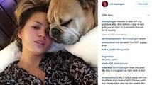 Chrissy Teigen Goes Makeup-Free on Instagram