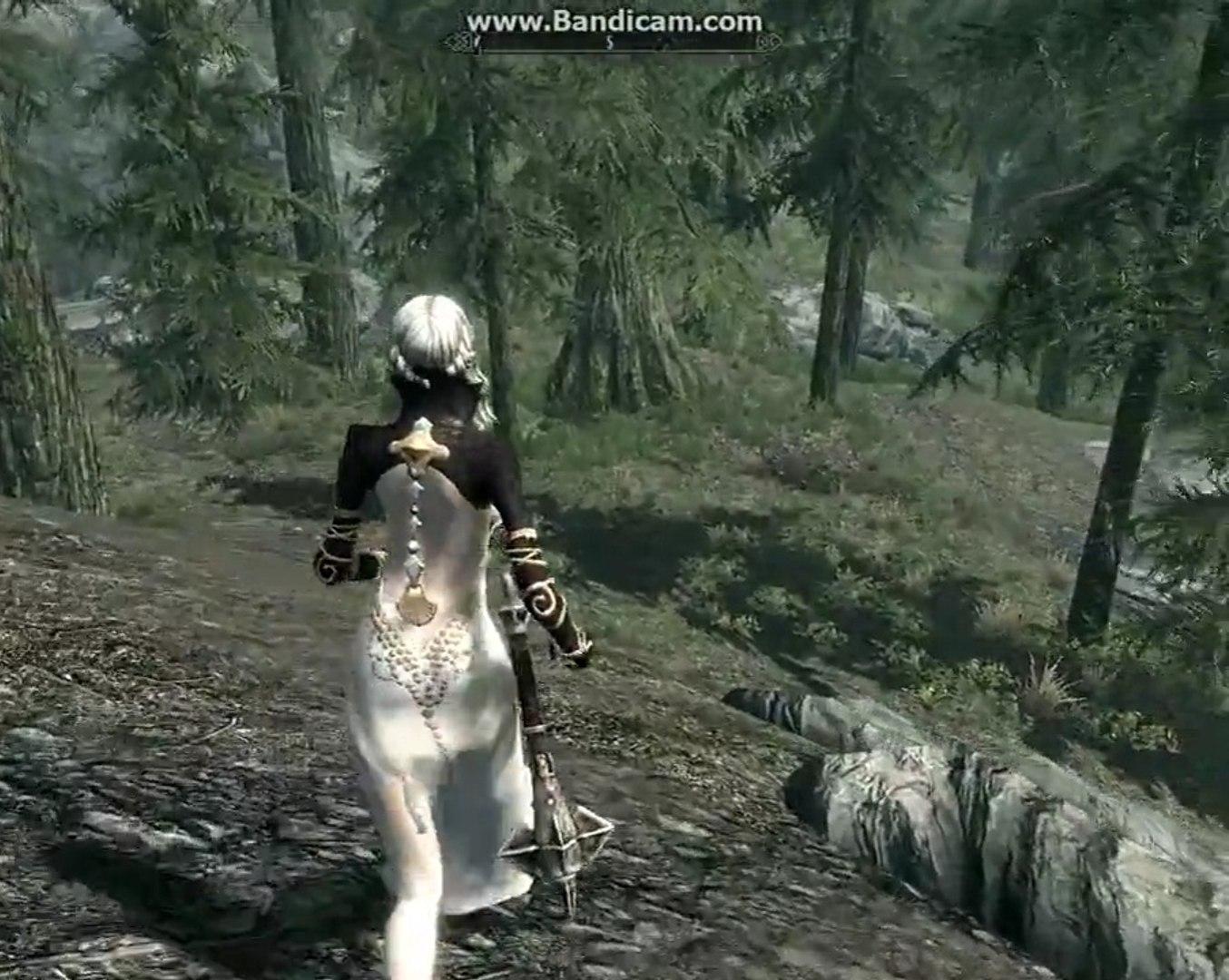TERA meets Skyrim - Castanic and High Elf mods