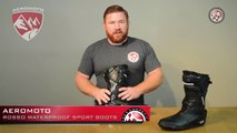 Aeromoto Rosso Waterproof Sport Motorcycle Boot Review