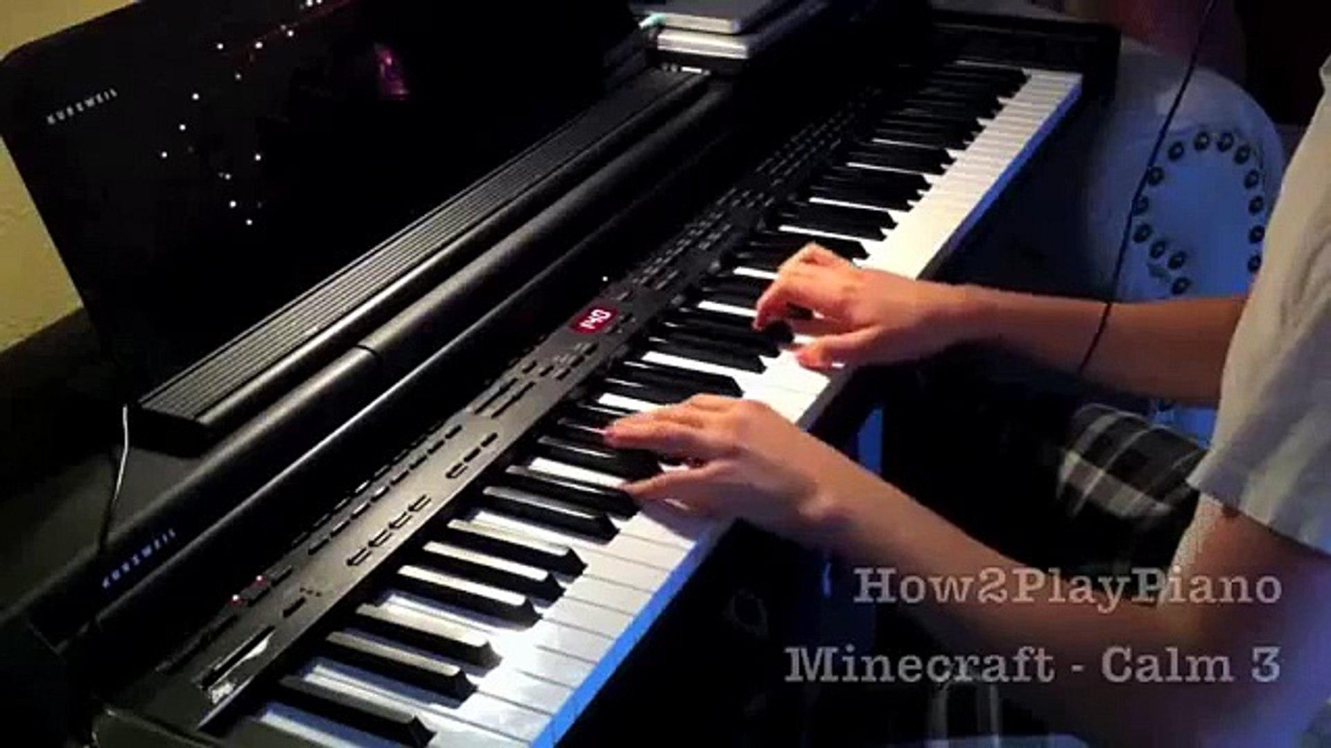 Minecraft: Calm 3 - Piano Cover [HD]
