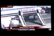 Boeing 757 Emergency Landing & Emirates A380 Landing in LAX