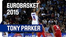 Tony Parker Becomes All-Time Leading Scorer in EuroBasket History - EuroBasket 2015