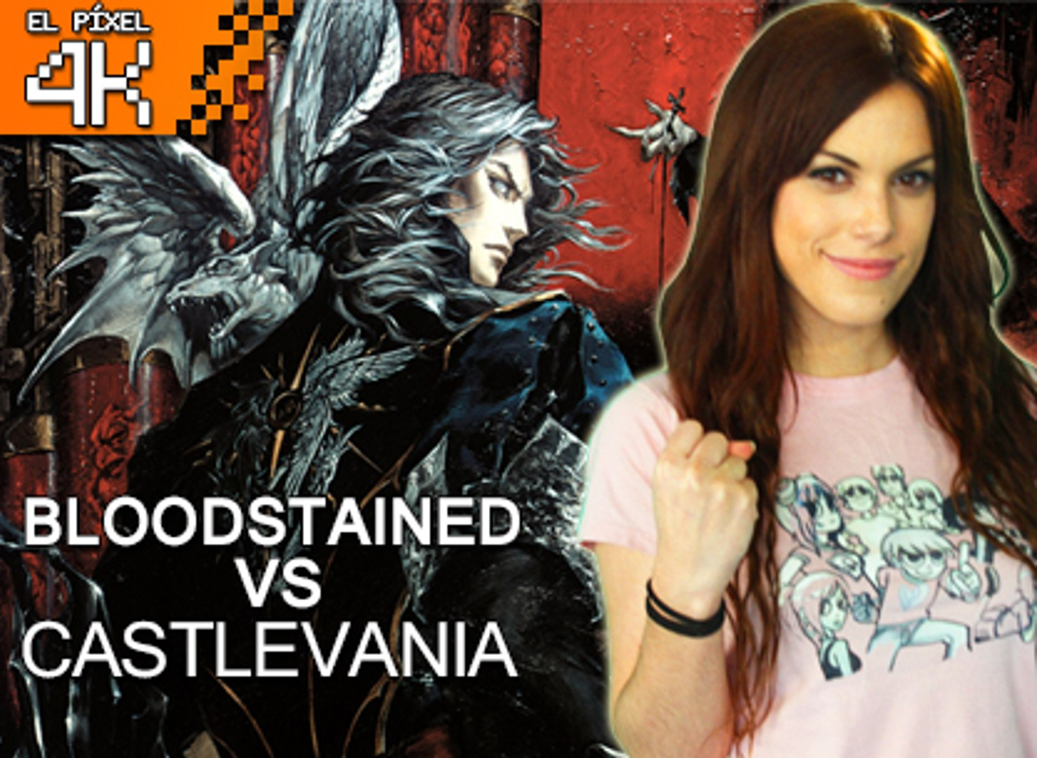El Píxel 4K: Castlevania VS Bloodstained