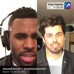 Want You to Want Me-Jason DeRulo and Preston Earnest (Smule