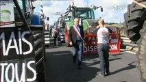 Crise agricole/Finistère : Un convoi d'éleveurs vers Paris