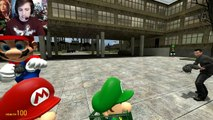 BABY MARIO BROS  IN HIGHSCHOOL!   Gmod Mario Brothers Mod (Garry's Mod)  VenturianTale
