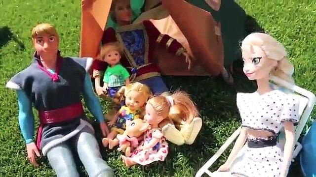 Frozen Anna Kidnapped PART 2 Frozen Family Kids Anna Kristoff Elsa CAMPING TRIP amp HANS