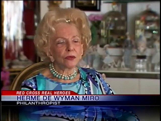 Herme de Wyman Miro - American Red Cross Real Hero Award Winner - Honoree 2010