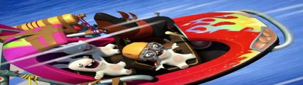 Les Lapins Crétins Invasion | The rabbids invasion | Episode The Blue Rabbids 4 - Funny Cartoon