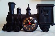 1991 Vintage Locomotive Talking Train Quartz Alarm Clock for sale on eBay