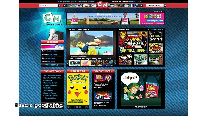 Cartoon Network Online Video Dailymotion