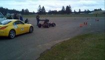 UW Electric FSAE Car - Dawg Sled Autocross