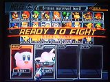 Super Smash Bros Melee: Kirby VS Jigglypuff