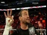 WWE Monday Night Raw - Demon CM Punk vs The Chipmunks