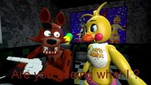 (SFM FNAF) Foxy and Toy Chica reacts five nights at freddy´s 4 trailer