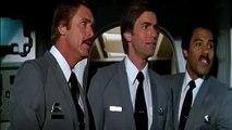 Y'a t'il un pilote dans l'avion ? : scène de la présentation des pilotes.
