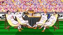Real Madrid vs Atletico Madrid 0 4 2015   funny cartoon HD 720p Atletico Madrid 4 0 Real Madrid