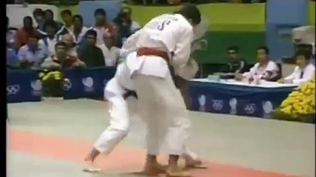 Koga vs Tenadze at 1988 Seoul Olympics