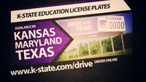 K-State License Plates Support K-State Students