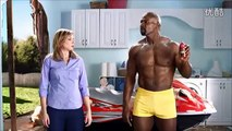 2014 FIFA World Cup funny ads energetic muscle roaring Emperor