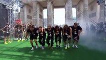 El baile de los Gauchos: el equipo alemán danza ante victoria