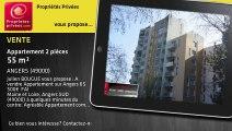 A vendre - Appartement - ANGERS (49000) - 2 pièces - 55m²