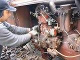 DT 54 & XTZ T 74 lánctalpas hideg indítás