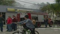 Seis agências bancárias são atacadas no Rio Grande do Sul