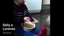 Lorenzo (bimbo Di 3 Anni) da La Pappa A Cane Shih Tzu