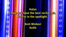 """PIPA 2015 Recital Ads Part 2 """"He Turned It"""" Positive Image Performing Arts"""