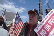 "Santa Monica Tea Party Protest ""Obama is the new Hitler!"""