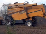 Sampo 2050, MTZ 1025 harvest 2011, part 1