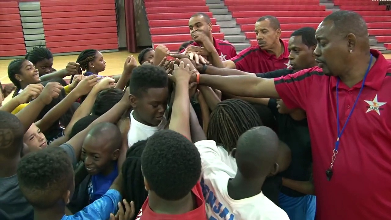 PBSO/ NBA Basketball Camp 2015