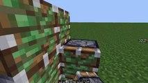 Minecraft 60 Seconds Tutorial: 1x2 Flush Piston Door!
