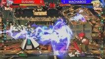 "PS4™×『GUILTY GEAR Xrd -SIGN-』""闘神激突"" Battle7 [ SUSUMU VS MACHABOO ]"