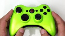 Xbox 360 - Electric Lime Green - Custom Controllers - Controller Chaos