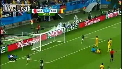 Mexico VS Cameron FIFA Word Cup 2014