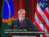 Lula, discurso histórico nos EUA parte 1: vantagens competitivas do Brasil