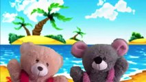 Numbers Song Puppets Show | Learning Number Puppet Show For Children | Teddy Bear Cartoon Rhymes.