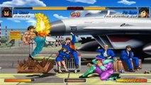 Super Street Fighter II Turbo HD Remix - XBLA - RenoMD (M. Bison) VS. The Machine BoP (Fei Long)