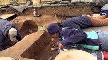 Excavating the Chancel Burials