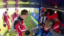 Skydive AFF course / Parachutisme - Stage PAC - Pau Parachutisme Passion - GoPro