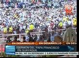 Papa: Servicios al pueblo no son limosna, sino una deuda social