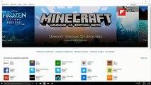 4# Baixando e Instalando(JOGANDO) Minecraft Windows 10 Edition Beta