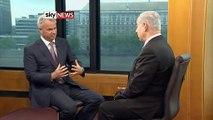 PM Benjamin Netanyahu on  Sky News On democracy in Syria, Gaza, PA, Egypt, Bin Laden