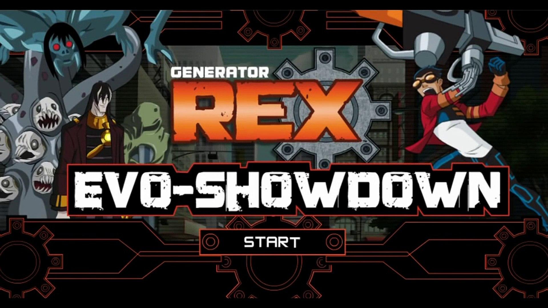 Cartoon Network Games  Generator Rex   Evo Showdown | cartoon network games